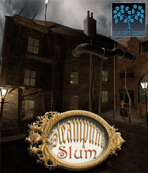 Steampunk Slum 3D Models BlueTreeStudio