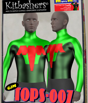 Kitbashers_Tops-007 -- By MightyMite for G3M 3D Figure Assets MightyMite
