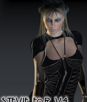 Stevie for V4 3D Figure Assets brahann