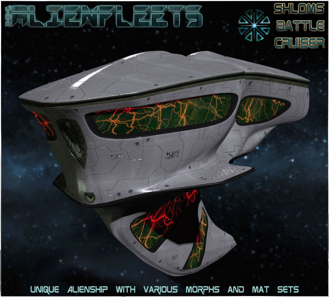 Alienfleets: Shloms BattleCruiser Fregatte