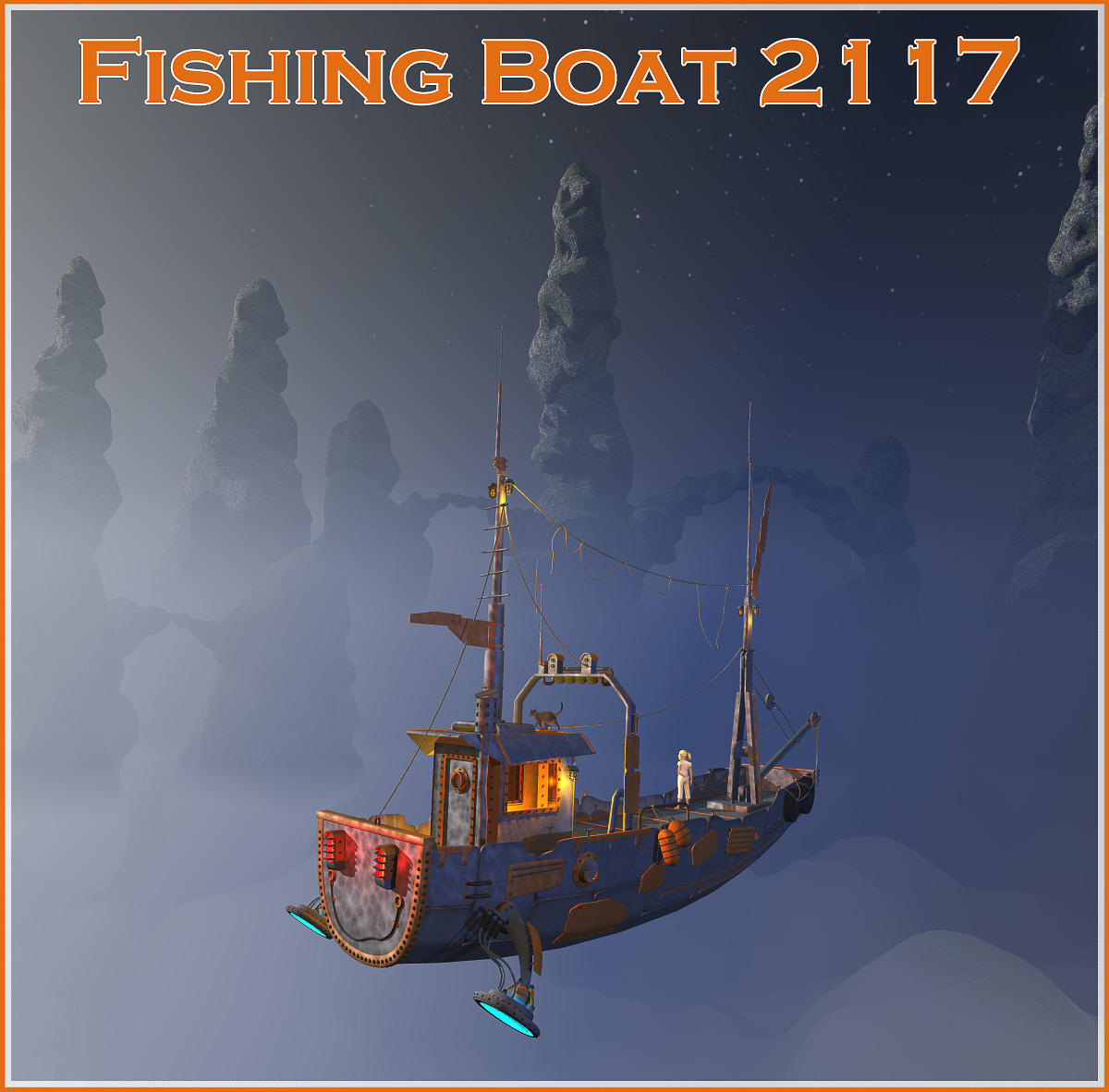 Fishing Boat 2117