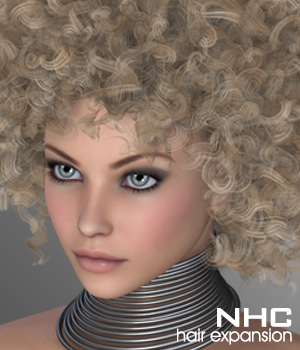 NHC Expansion : Evi Hair 3D Figure Assets P3D-Art