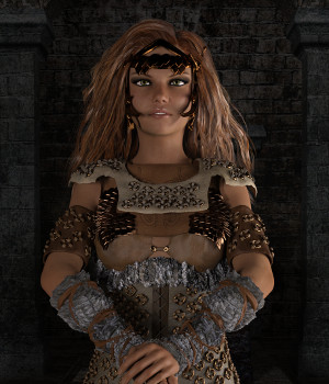 Fantasy Bronze Armor for Genesis 3 Female 3D Figure Assets Deacon215
