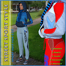 Street Sport Style: Sports Suit for Genesis 3 Female(s) image 1