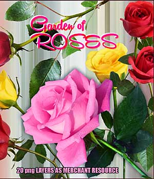Garden of ROSES 2D Graphics Merchant Resources RajRaja