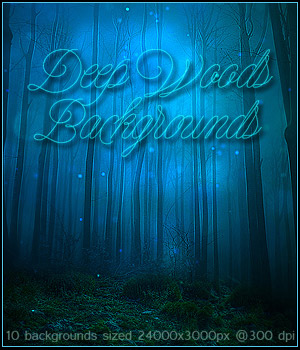 FS Deep Woods Backgrounds 2D Graphics FrozenStar