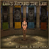 DM's Around the Lair - Extended License 3D Models Extended Licenses DM