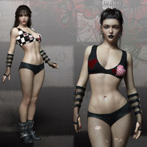 CruX Outfit for the Genesis 3 Female image 6
