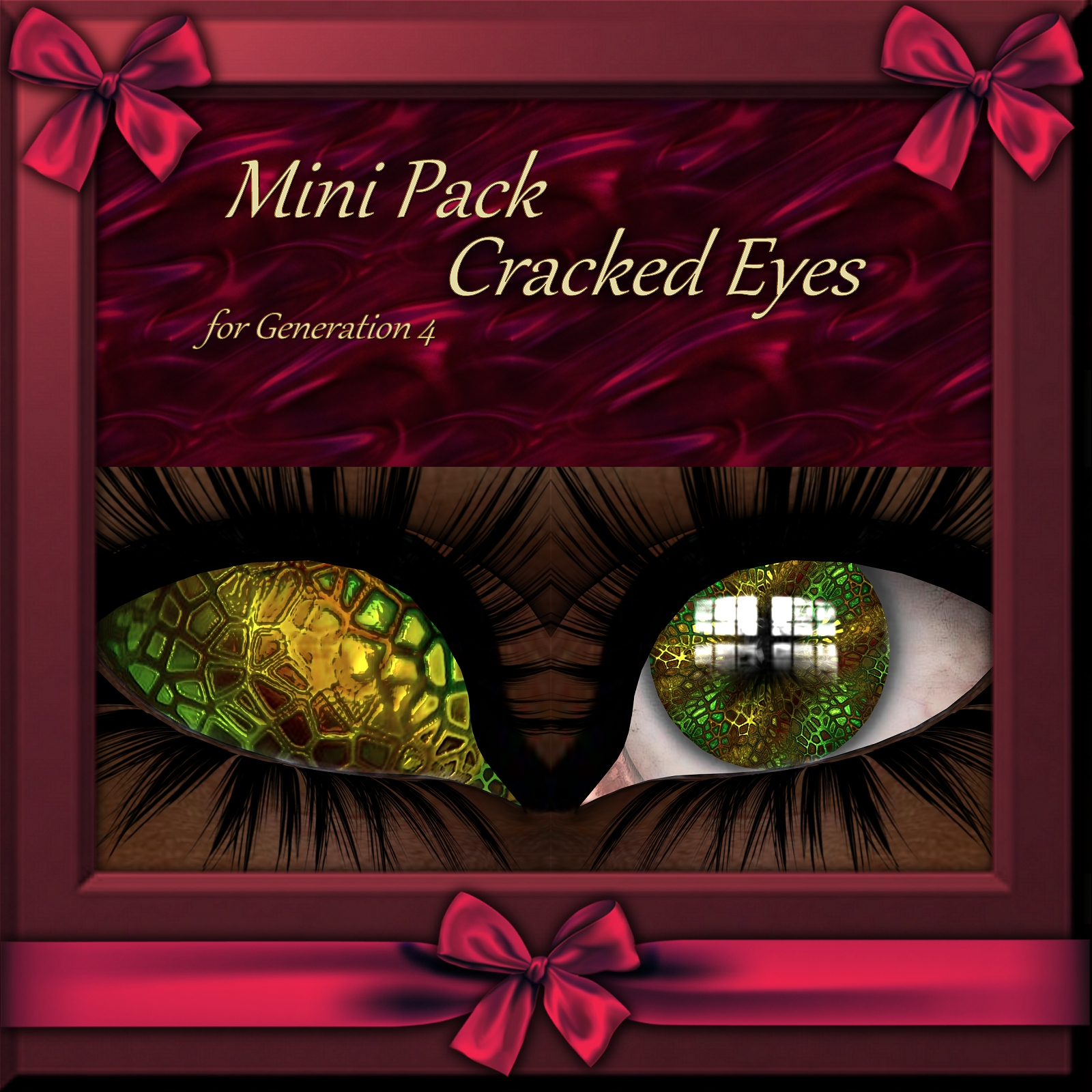 Mini Pack : Cracked Eyes  for Generation 4