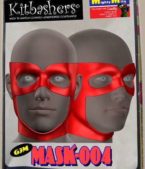 Kitbashers_Mask-004 -- By MightyMite for G3M 3D Figure Assets MightyMite