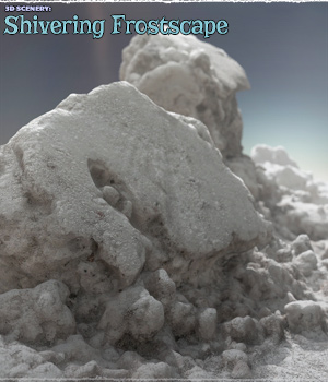 3D Scenery: Shivering Frostscape 3D Models ShaaraMuse3D