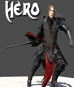 Hero Warrior - Extended License 3D Models Extended Licenses 3D Game Models : OBJ : FBX KRBY