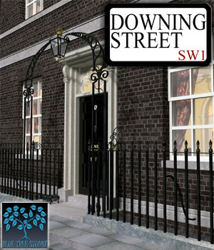 Downing Street 3D Models BlueTreeStudio