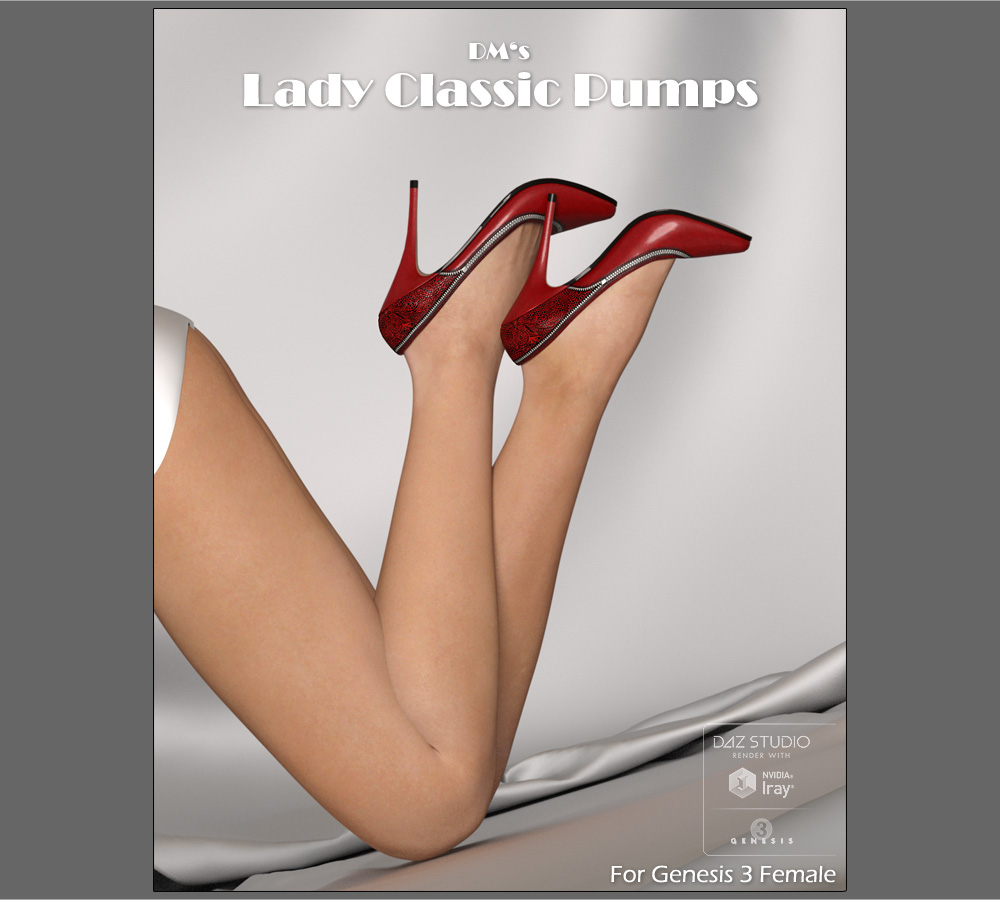 DMs Lady Classic Pumps - Extended License