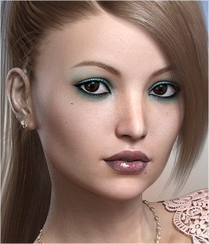 FWSA Bryna for Victoria 7 and Genesis 3 3D Figure Assets Sabby