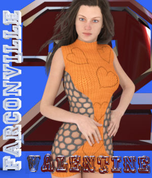 VALENTINE 2 OUTFIT FOR GENESIS 2, VICTORIA 6 AND MICHAEL 6 3D Figure Assets farconville