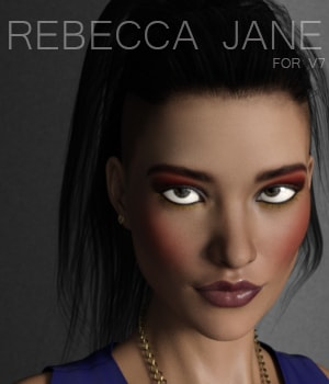 Rebecca Jane for V7 3D Figure Assets AliveSheCried