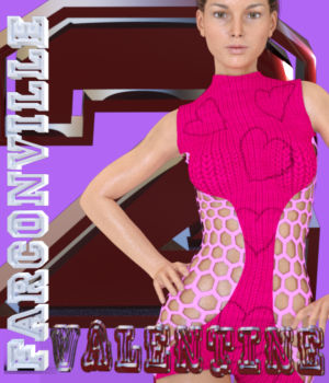 VALENTINE 2 OUTFIT FOR GENESIS 3, VICTORIA 7 AND MICHAEL 7 3D Figure Essentials farconville