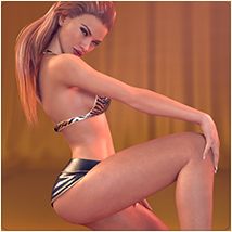 Z With Flair - Poses for the Genesis 3 Female(s) image 1