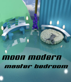 Moon Modern Master Bedroom 3D Models dhouck