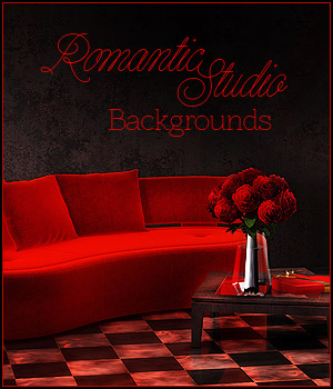 FS Romantic Studio Backgrounds 2D Graphics FrozenStar