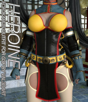 HEROINE - Ikaros Outfit for Genesis 3 Female(s) 3D Figure Assets Anagord