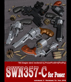 SWN357-C for Poser 3D Models motokamishii