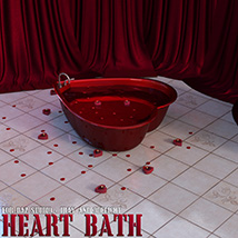 Heart Bath Daz Studio image 3