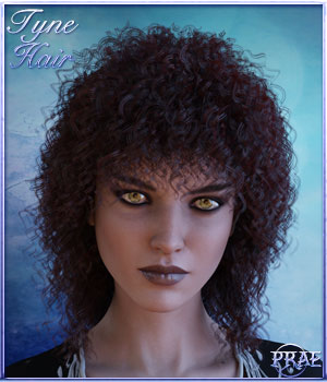 Prae-Tyne Hair for G3 3D Figure Assets prae