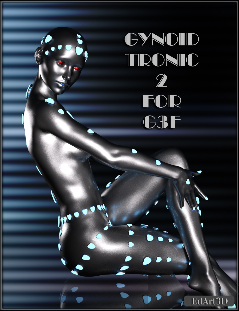 Gynoid_Tronic 2 for G3F