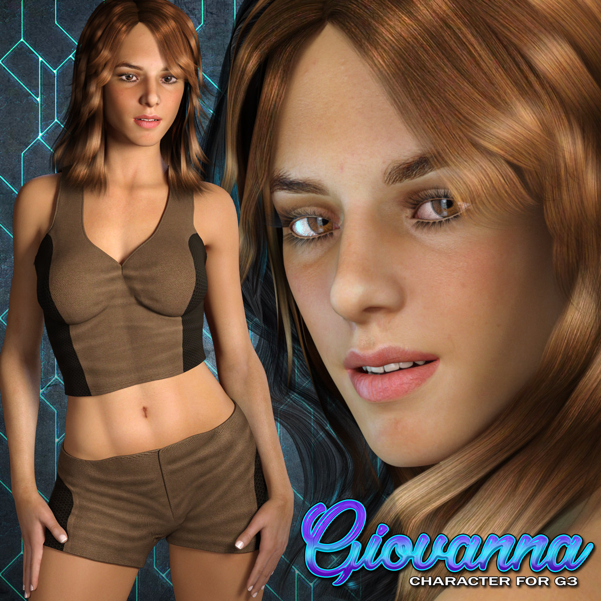 Exnem Giovanna Character for G3 Female