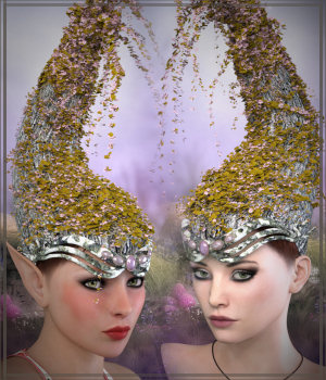 Sylph Crown BUNDLE 3D Figure Essentials -Wolfie-