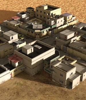 Desert Town (for DAZ Studio) 3D Models VanishingPoint