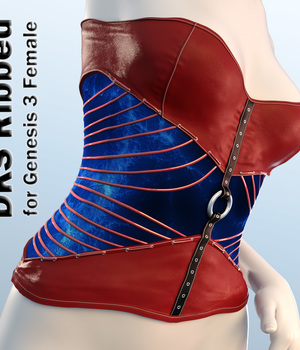 DKS Ribbed for Genesis 3 Female 3D Figure Assets MarcosDk