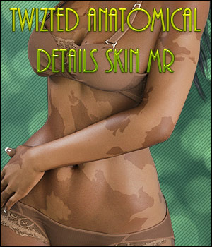 Twizted Anatomical Details Skin MR 2D Graphics Merchant Resources TwiztedMetal