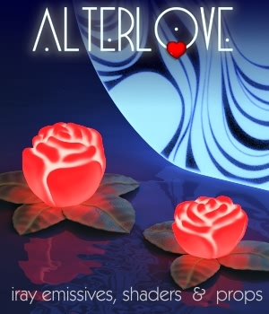 AlterLove - Iray Lighting System Lights OR Cameras fabiana
