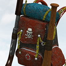 Wasteland Weapons: Survivors Backpack image 2