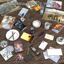 Everyday items, Scene clutter image 3