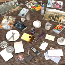 Everyday items, Scene clutter image 4