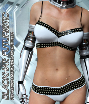 BLACKHAT:FUTURISTIC - Valentina Lingerie for Genesis 3 Female(s) 3D Figure Assets Anagord