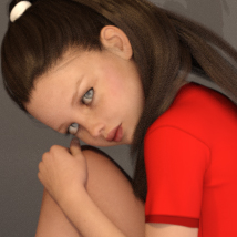 Delicate - Poses for Tween Julie 7 image 2