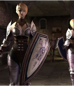 Royal Female Warrior - Extended License 3D Models Extended Licenses 3D Game Models : OBJ : FBX KRBY