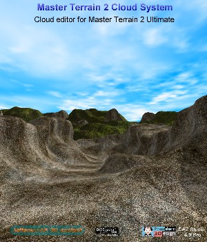 Master Terrain 2 Cloud System 3D Models JeffersonAF