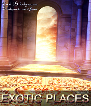 Exotic Places - 2D backgrounds 2D Graphics bonbonka