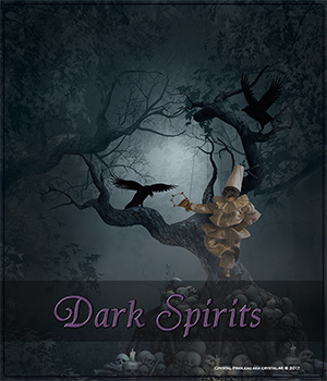 Dark Spirits 2D Graphics Crystal46