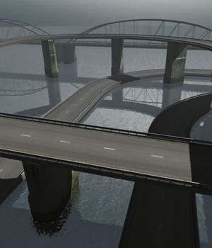 Roads and Bridges - Extended License 3D Models Extended Licenses 3D Game Models : OBJ : FBX KRBY