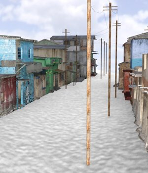 Shanty Town Buildings 2: Town Blocks (for DAZ Studio) 3D Models VanishingPoint