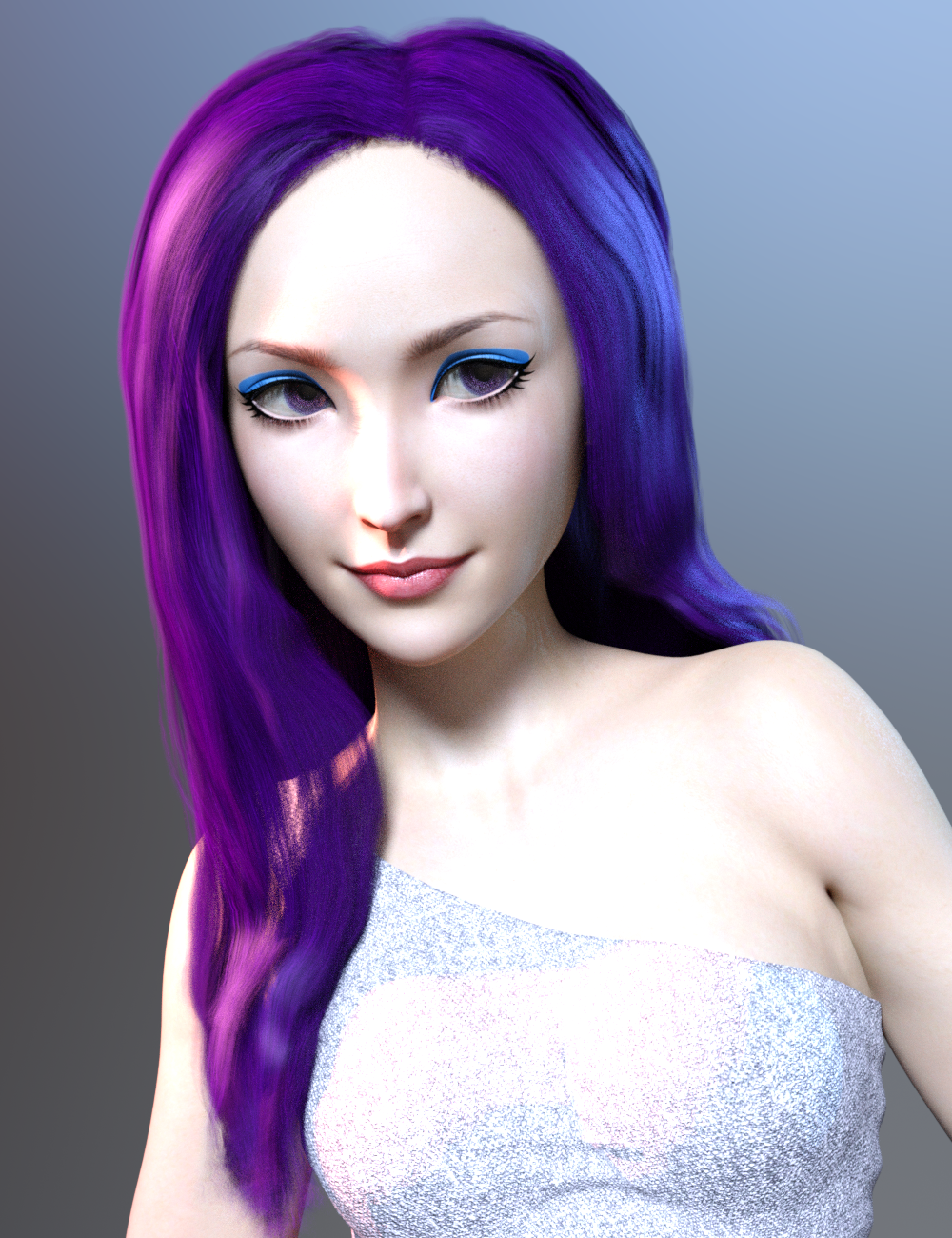 Pop Glam Hair for Genesis 3 Female(s)