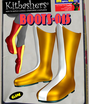 Kitbashers_Boots-015 -- By MightyMite for G3M 3D Figure Assets MightyMite