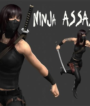 Ninja Assassin - Extended License 3D Models Extended Licenses Game Content - Games and Apps KRBY